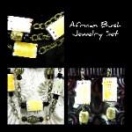 African Bush Jewelry Set