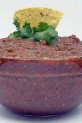 Easy salsa in food processor