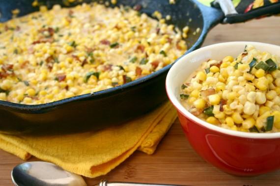 Kicked Up Creamed Corn