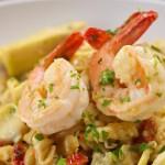 Lemony Ricotta Shrimp Pasta