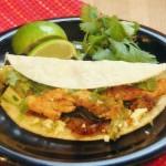 Green Chicken Tacos