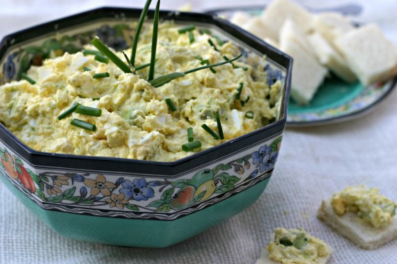Deviled Egg Salad and Avocado Dip