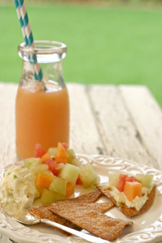 melon nachos