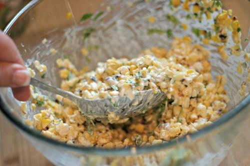 Mix Elote salad
