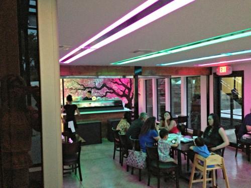 Guernsey Park sushi bar