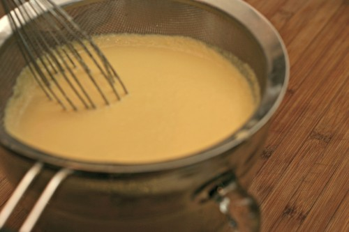 strain custard