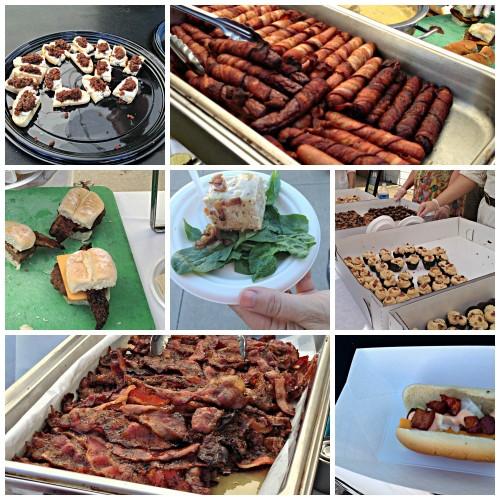 Baconfest food Tulsa