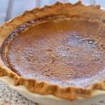 Brûléed Pumpkin Pie