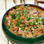 "Quinoa ""Fried Rice"""