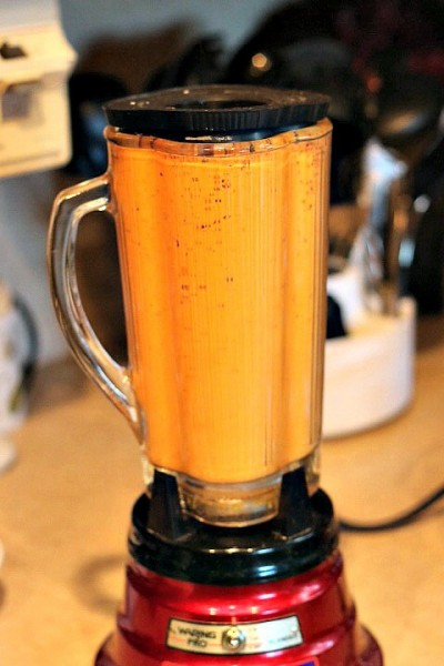 Orange sauce tacolicious
