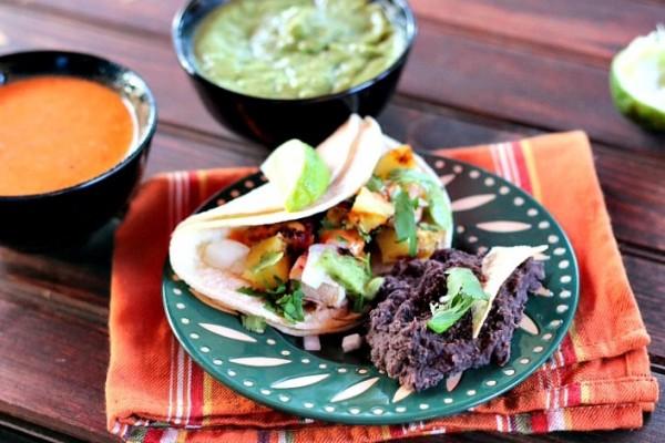Al paste tacos