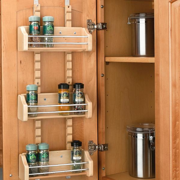 Mountable spice rack