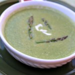 Asparagus Spinach Coconut Soup