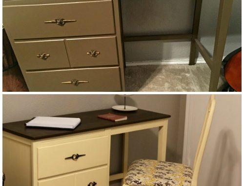 Thrift Store Desk Remodel