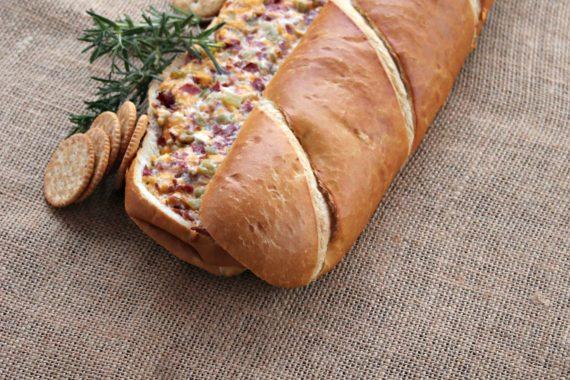 Suzie's Stuffed Bread