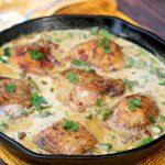 French Spring Creamy Mustard Chicken