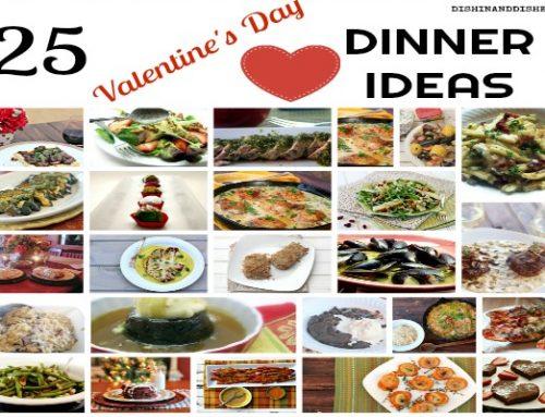 25 Valentine's Day Menu Item Ideas