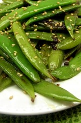 Sugar Snap Peas Asian recipe