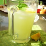Summertime Basil Lemonade
