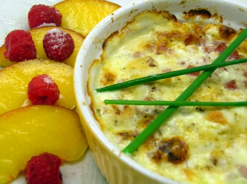 Shirred Eggs (Baked Eggs) | Dishin & Dishes