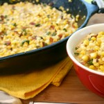 Kicked Up Creamed Corn From Scratch