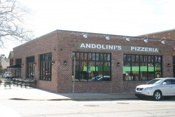 Andolini 39 s pizzeria on cherry street tulsa tasting for Andolinis