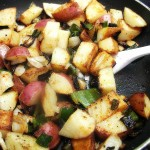Poblano Grilled Potatoes