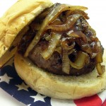 The All American Stuffed Burger