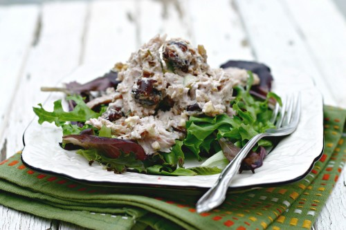 Chicken salad with cranberries and Walnuts 3