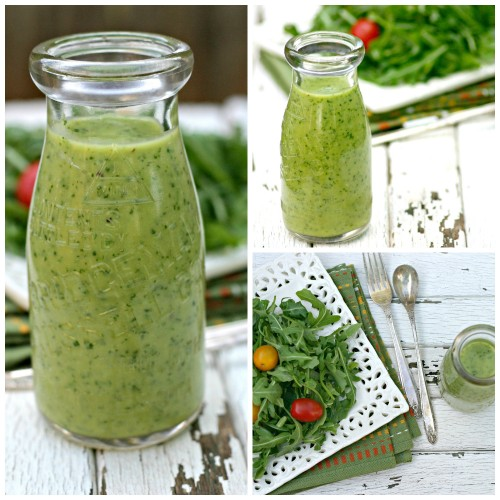 Creamy Avocado Citrus Salad Dressing – No Cream, No Oil!