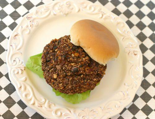 Chipotle Black Bean Quinoa Veggie Burgers