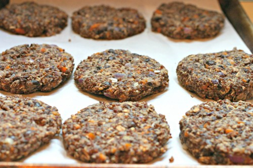 black bean quinoa burger patties