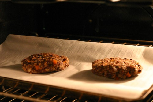 how to cook veggie burgers