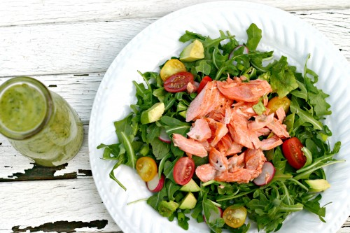 Sockeye Salmon Salad