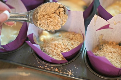 muffin crunchy topping