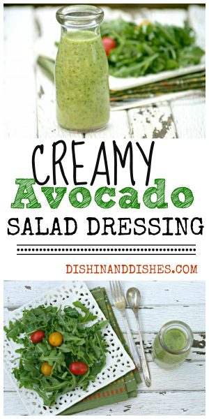 AVOCADO SALAD DRESSING RECIPE