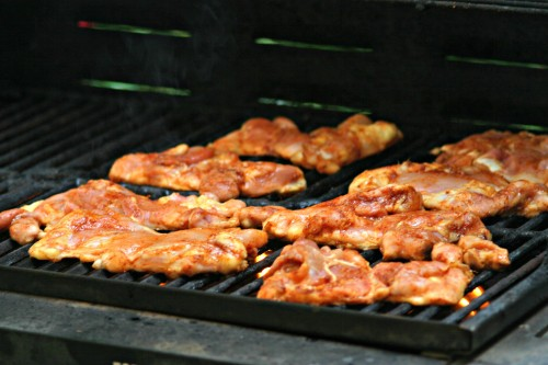 chipotle honey chicken grill