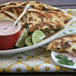 turkey quesadillas