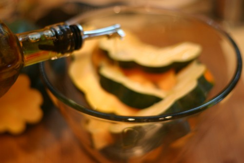 roasted acorn squash