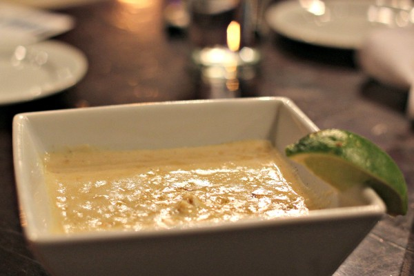 Crab Corn Chowder at Urban Wine Works