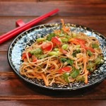 Soba Noodles with Thai Peanut Sauce