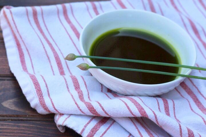 Chive Oil Recipe