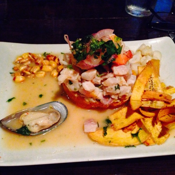 Ceviche Mixto from La Brasa Peruvian Kitchen in Oklahoma City
