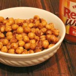 Roasted Buffalo Garbanzo Beans