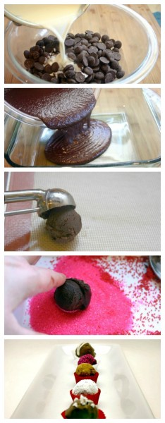 How do you make truffles