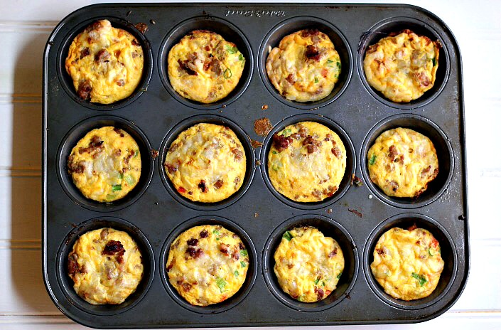 Mini Quiche Crustless