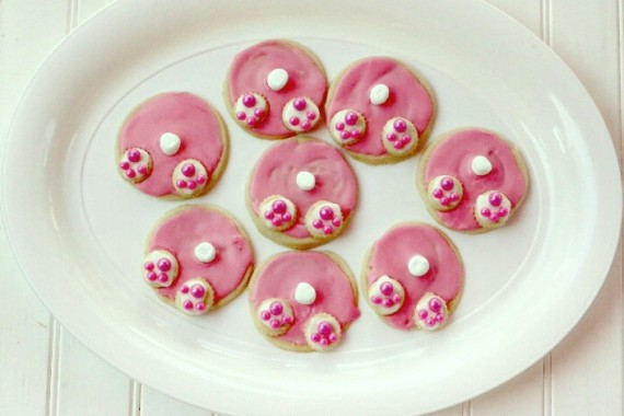Bunny Tail Cookies