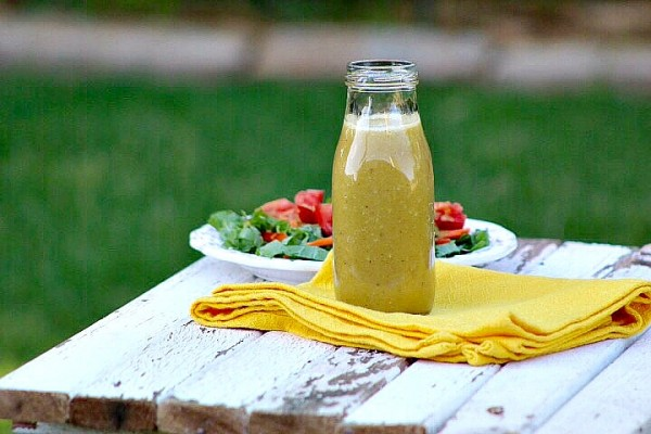 Vidalia Onion Vinaigrette Salad Dressing Recipe