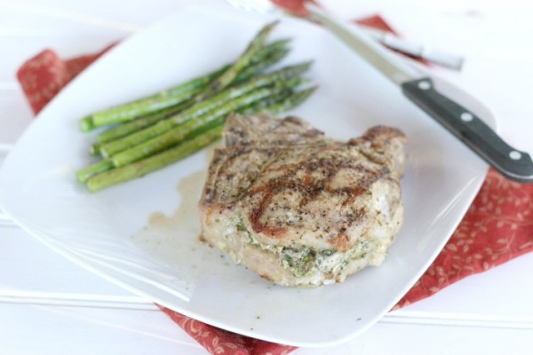 Stuffed Porterhouse Chops