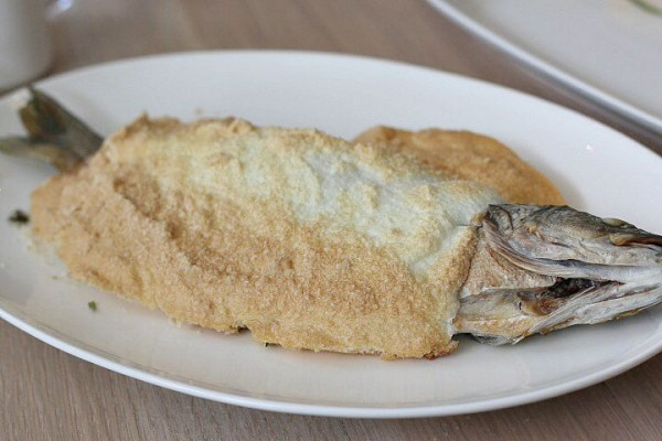 Salt Encrusted Branzino The Drake Oklahoma City OKC